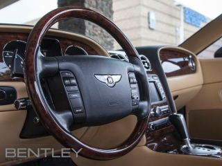 Used 2007 Bentley GTC Beluga Wood Hide Steering Wheel Massage Front Seats Sirius