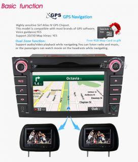 "HD 6 2"" Car Radio DVD GPS Player DVR DVB T in for Opel Zafira Corsa Vectra Astra"