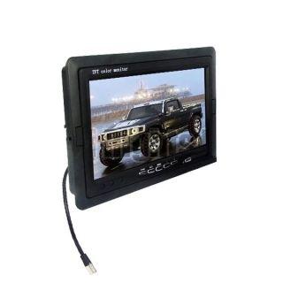 "7"" TFT LCD Color Screen Reversing Monitor for Car Rear View Reverse CCTV Camera"