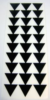 "9"" Black Hawaiian Hawaii Tribal Triangle Arrows Vinyl Car Window Decal Sticker"