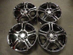 "Acura TSX Honda Accord Civic CRV 17"" x 7"" Chrome Alloy Wheels Rims Set of 4"