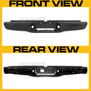 1995 2000 Toyota Tacoma Rear Bumper Assy for Regular Bed 002283598201 Black Dlx