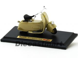 Maisto 1 18 1945 Vespa MP5 Paperino Diecast Vintage Scooter Motorcycle Green