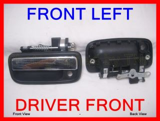 Front Left Outer Outside Door Handle 95 96 97 98 99 00 01 02 04 Toyota Tacoma