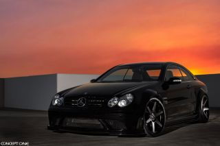 "20"" Infiniti G35 Sedan Concept One CS6 6 0 Concave Black Staggered Wheels Rims"