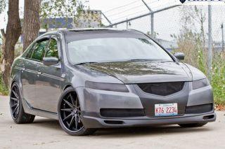 "20"" Infiniti G35 Sedan Rohana RC10 Concave Black Staggered Wheels Rims"