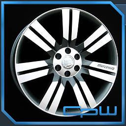 "Cadillac Escalade 24"" inch Silver Wheels GMC Chevrolet Rims Free Shipping New"