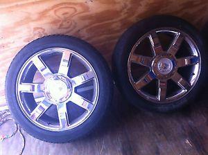 """Factory Cadillac Escalade 22"""" Rims Tires"""