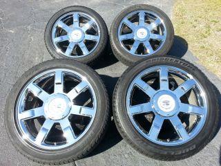 "22"" Cadillac Escalade Wheels Rims Tires Factory Chrome Wheels Rims 5309"