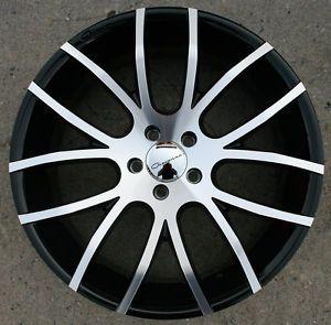 "Giovanna Kilis 20"" Black Rims Wheels Acura MDX RDX 20 x 8 5 5H 38"