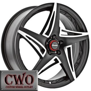 18 Black Panther Scream Wheels Rims 5x120 5 Lug cts BMW 1 3 Series Acura TL GTO