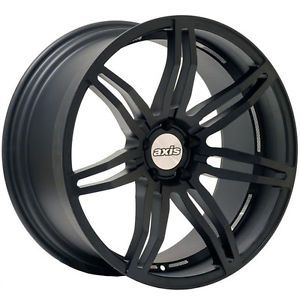 "20"" Axis Angle Matte Black Wheels Rims Fit Lexus IS300 350 250 Is F"