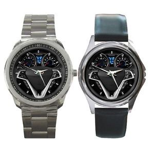 New 2012 Hyundai Veloster Steering Wheel Round Metal Watch Fit with Your Hat