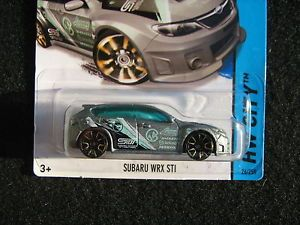 2014 Hot Wheels Secret Treasure Hunt Subaru WRX STI First for 2014 Dont Miss Out