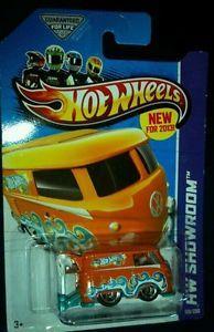 2013 Hot Wheels Super Treasure Hunt 27th Convention VW Volkswagen Kool Kombi