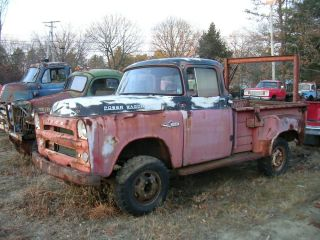 1957 Dodge W100 Power Wagon for Parts or Resto