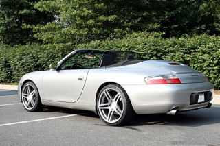 "22"" Roderick RW5 Silver Concave Wheels Rims Fits Porsche Cayenne s Turbo GTS"