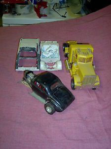 63 Ford Galaxie Peterbuilt Truck Ford Coupe Plastic Model Parts