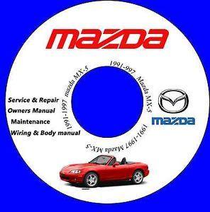 1991 1997 Mazda Miata MX 5 Service Repair Manual 1992 1993 1994 1995 1996 MX5