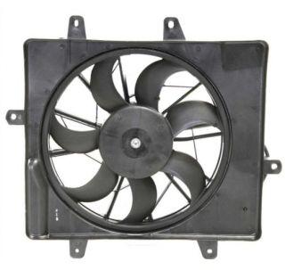06 09 Chrysler PT Cruiser Radiator Condenser Cooling Fan Motor Assembly
