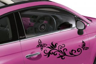 A Large Daisy Flower Car Decal Sticker Graphic Floral for VW Volkswagen Beetle