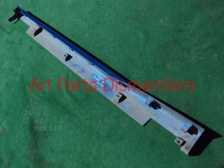 05 06 Acura RSX Side Skirt Rocker Molding Moulding Panel Protector Sill Blue