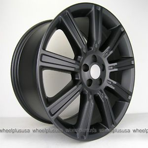 "20"" Range Rover Evoque Wheels and Tires Package 20x9 5 5x108 ET45 Matte Black"