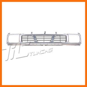 1993 1997 Nissan Pickup Base XE SE Grille Grill New Front Body Parts Assembly