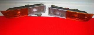 Vintage Carello Front Turn Signal Lights Indicators Alfa Romeo Alfetta GT GTV I