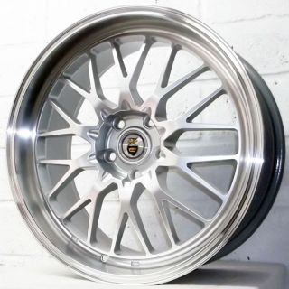 "19"" Audi Q5 2008 2012 SUV Cades Tyrus Sil Pol Alloy Wheels 5x112"