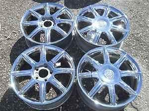 "Buick Lacrosse Allure 17"" Chrome Alloy Wheel Rims"