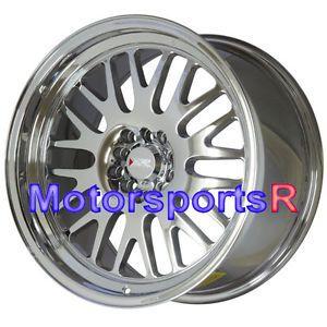17 17x9 0 Et 35 XXR 531 Platinum Deep Dish Lip Wheels Rims 5x100 Stance Honda