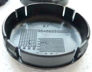 Volvo Black Center Hub Caps Cover Wheel S70 V70 XC90 850 960 S90 S80 More