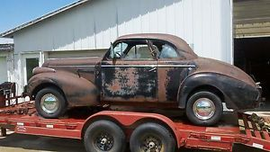 1939 Buick Business Coupe Complete Rat Hot Rod Restore Parts 8 Cyl Special 39