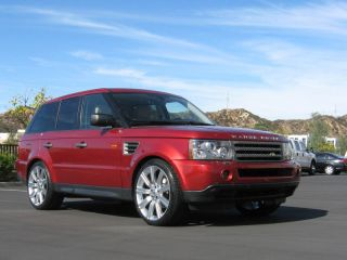 """New Stormer II 22"""" inch Wheels Rims Tires Package Range Rover Sport Supercharged"""