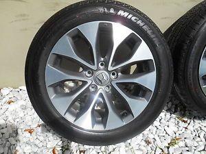 """17"""" Factory 2013 Honda Accord Wheels Rims Tires Mint No Reserve"""