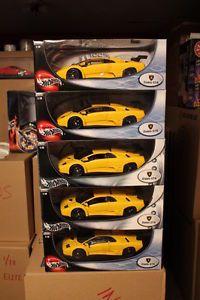 N I B Hotwheels Lamborghini Diablo GTR Race Car Fly Yellow