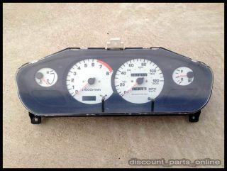 USDM Nissan 240sx s14 Zenki Speedometer White Face Gauges MPH Silvia sr20 Ka