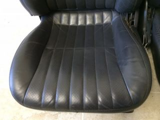 Chevrolet Camaro 82 02 Ebony Leather Seats Excellent 93 98 00 Hot Rod Rear