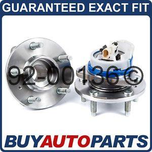 Pair Pontiac Grand Prix Front Wheel Hub Bearings 97 05