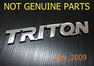 Mitsubishi Triton Logo Emblem Decal Badge Sign Parts 05