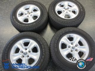 Four 2013 Jeep Grand Cherokee Factory 17 Wheels Tires Rims Goodyear