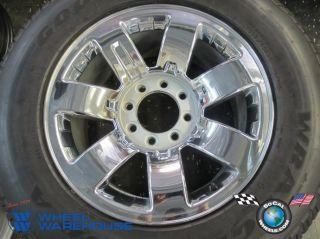 One 08 09 Hummer H2 Factory 20 Wheel Tire Rim 6310 9596680 Chrome No Cap