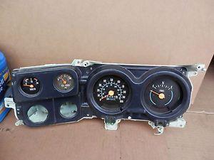 1973 87 Chevy GMC Truck Blazer Cluster Speedometer GM 82K 100 MPH for Parts 4