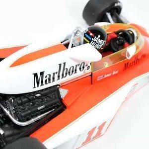 F1 1 18 James Hunt 1976 McLaren Ford M23 11 w Tobacco World Champion M23D Mint