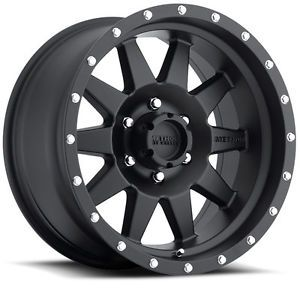 "17"" Method Race Wheels Wheel Set 17x7 5 Matte Black Mercedes Sprinter Rims 50mm"