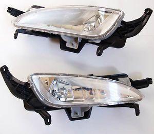 Fog Light Lamp Pair Wire Genuine Parts Fit Kia Optima 2011 2012 2013 K5