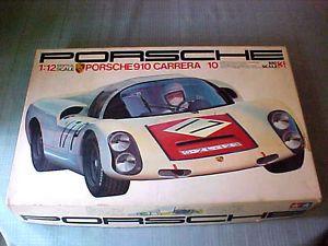 Tamiya Porsche 910 Carrera 10 Model Kit 1 12 Big Scale F 1 RARE
