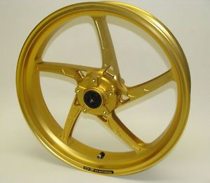 Oz Forged Aluminum Front Wheel Rim Hayabusa 08 13 GSXR1300 GSX1300R B King Gold