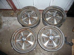 15x6 Pontiac Rally Wheels Firebird LeMans Grand Prix Trans Am GTO KG Wheel Code
